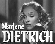 Portrait of Marlene Dietrich (click to view image source)