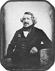 Portrait of Louis Daguerre (click to view image source)