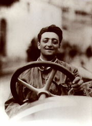 Portrait of Enzo Ferrari (click to view image source)