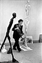 Portrait of Alberto Giacometti  (click to view image source)