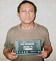 Portrait of Manuel Noriega (click to view image source)