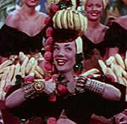 Portrait of Carmen Miranda (click to view image source)