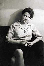 Portrait of Ulrike Meinhof (click to view image source)