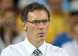 Portrait of Laurent Blanc (click to view image source)